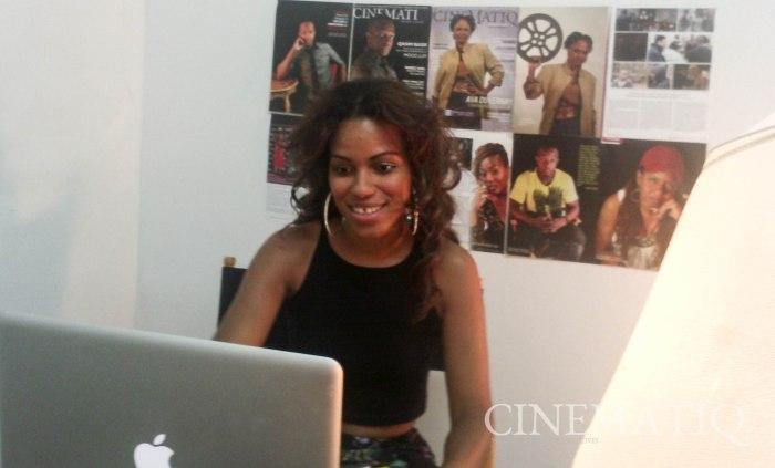 FranCeli Chapman (host) in NY Studio (Smart phone)